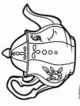 Kettle Coloring Pages Printable Recommended Mycoloring sketch template