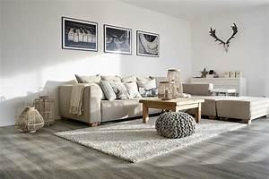 Wohnzimmer Wandgestaltung Farbe : die grau wand ~ Markanthonyermac.com Haus und Dekorationen