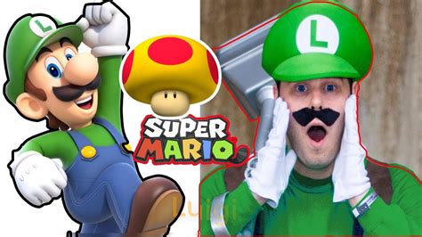 Super Mario Characters In Real Life Cartoon Characters