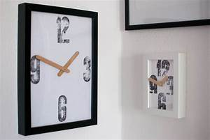 Rustic Letterpress Design Clock « RustyCity com – Handmade