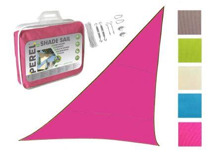 sonnensegel mit ösen sonnensegel dreieck pink 5m mit 214 sen sonnenschutzsegel