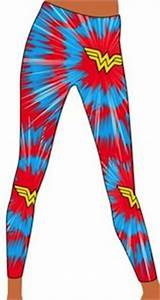 Wonder Woman Burst Tights