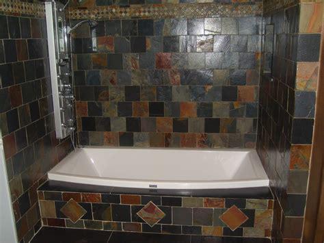 Ideas On Using Natural Slate Bathroom Tiles