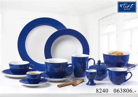 Geschirr Set Blau Weiß by 6er Set Kaffeebecher Doppio Indigo Blau Flirt By