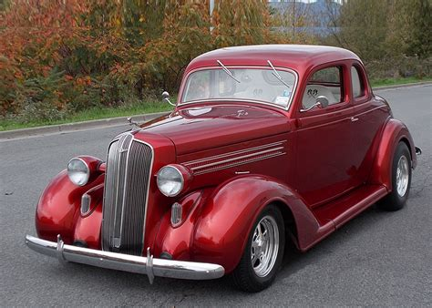 fred fish s 1936 dodge business coupe hotrod hotline