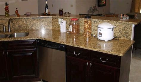 Crystal River Florida Granite Kitchen Counter Tops, Marble