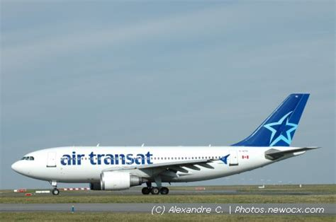 avion de air transat photos de spotting des avions air transat tsc