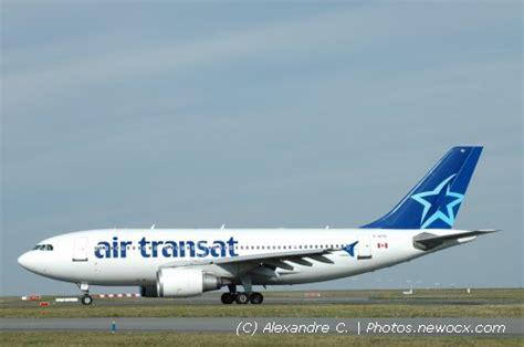 photos de spotting des avions air transat tsc