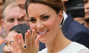 kate middleton39s ring from princess diana soars to gbp With princess dianas wedding ring