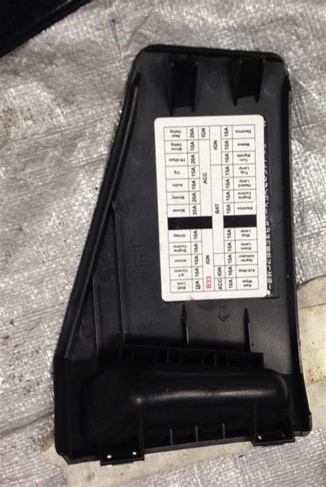 R33 Fuse Box by R33 Gtr Gtst Parts Fuel Interior Etc For Sale