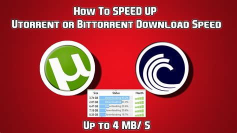 how to speed up boost utorrent or bittorrent