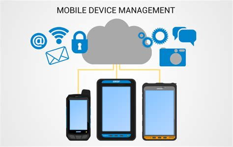 mobile device management kiosk mode data