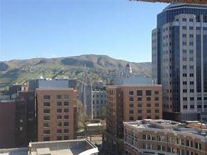 Temple view - Picture of Salt Lake Marriott Downtown at ...