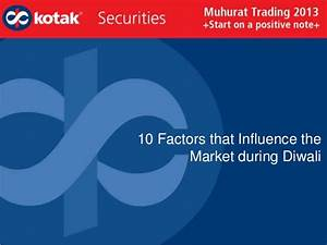 10 Factors That Influence The Market During Diwali