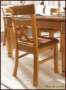 Landhaus Kchen Sthle Stuhl Mit Polster Goldbraun Holz