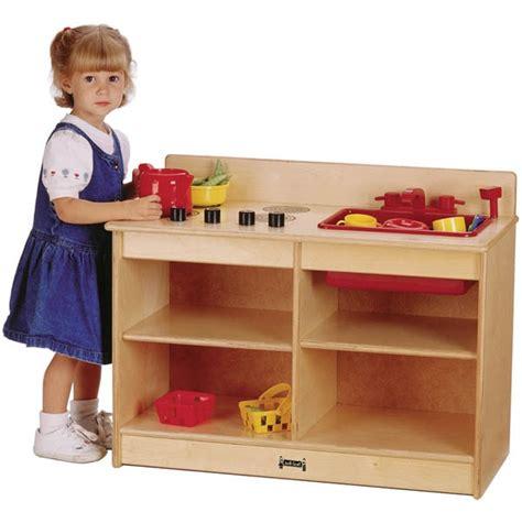 Jonticraft Thriftykydz 2in1 Toddler Wooden Play Kitchen