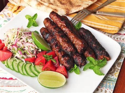Kebab Recipe seekh kebabs spicy grilled ground skewers
