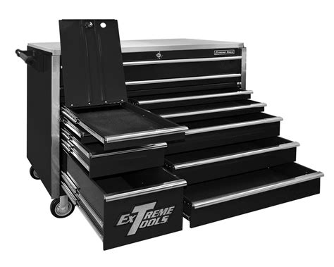 roller cabinet tool box extreme tools ex5511rc roller cabinet tool box