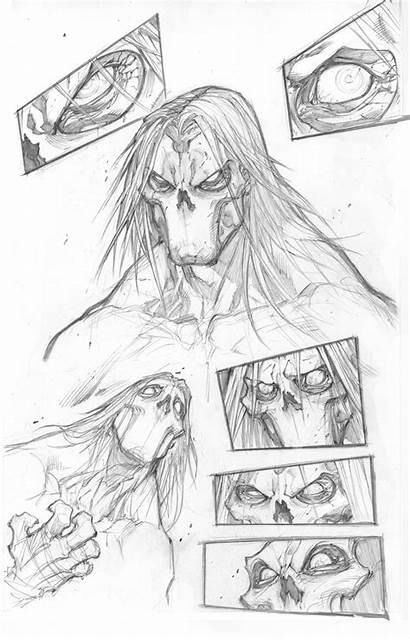 Darksiders Death Face Concept Madureira Joe Sketches
