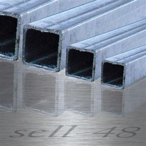 Stahl Verzinkt by Verzinkt Vierkantrohr Profilrohr Quadratrohr Feuerverzinkt