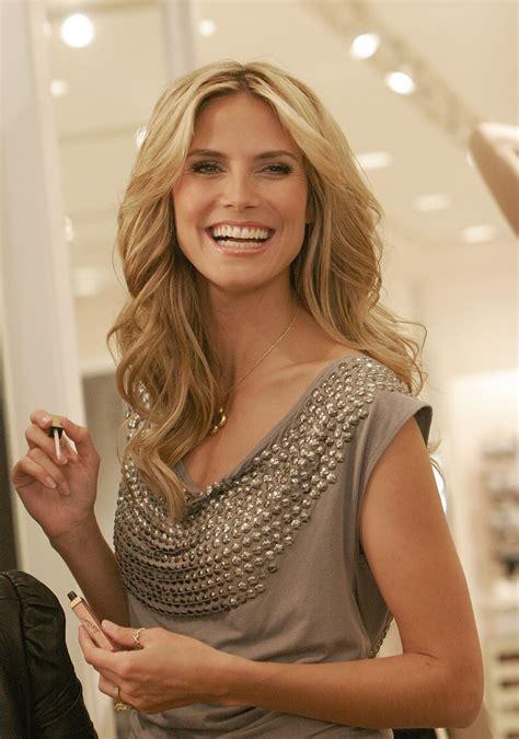 Heidi Klum Heidi Klum Launches Her Make Up Collection At