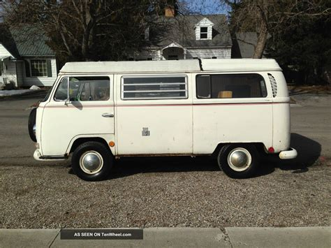 volkswagen westfalia cer 1969 vw van bus westfalia pop top cer rv drive away
