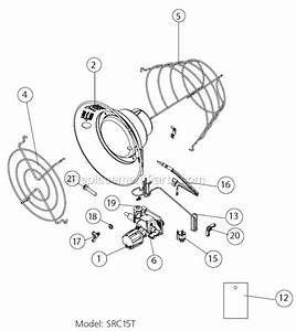 Mr  Heater Src15t Parts List And Diagram