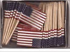World Flag Toothpicks