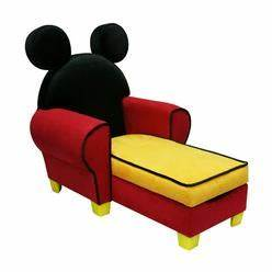 Disney Mickey Mouse Upholstered Icon Chaise Lounge With