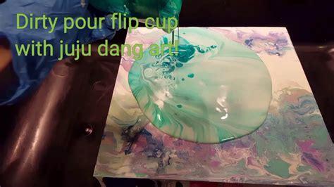 how i do a pour flip cup cell liquid