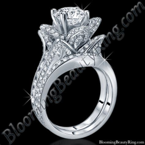 unique engagement rings for by blooming jewelry