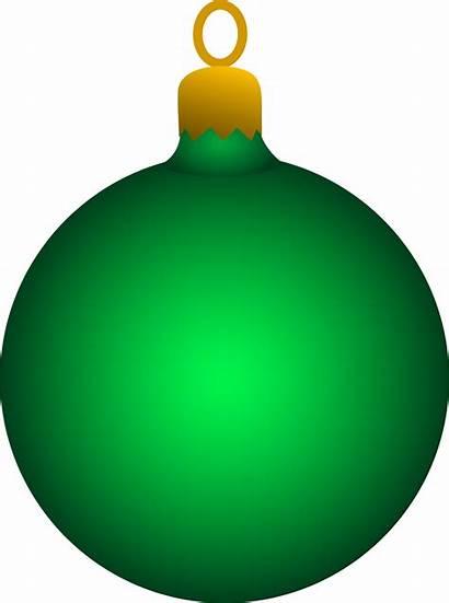 Ornament Tree Clip Round Sweetclipart Holidays