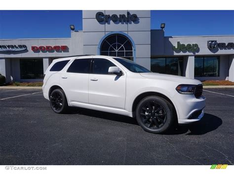 2017 Dodge Durango Gt Black