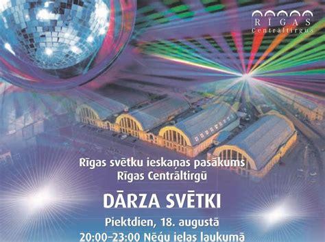 Rīt Centrāltirgus aicina uz Dārza svētkiem - Rīgā - nra.lv