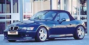 BMW Z3 series Rieger Tuning Body Kits, Aerodynamics, Front