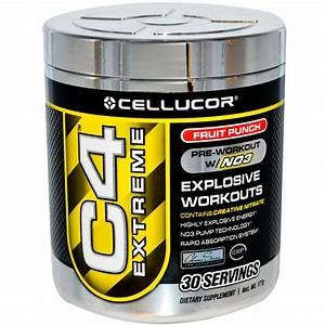 C4 Extreme Pre Workout Review