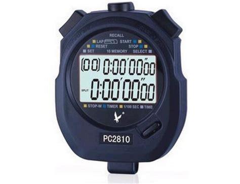 professional multi function sports stopwatch handheld digital chronograph timer stopwatch large