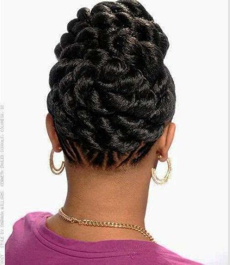 Updo Twist Hairstyles American by American Flat Twist Updo Hairstyles New