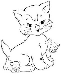 cat coloring pages free printable cat coloring pages for