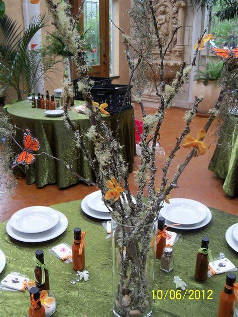 Gilded Petals Enchanted Forest Centerpiece Gilded Petals