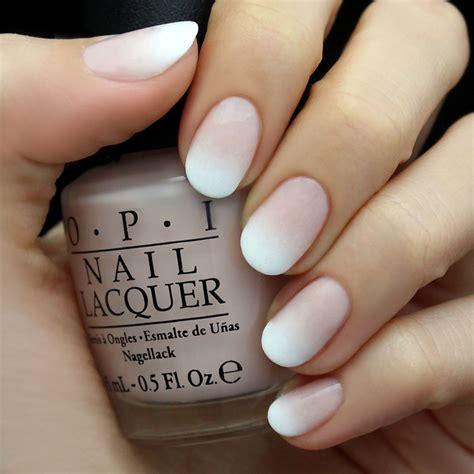mani monday white ombre nail tutorial luluscom fashion