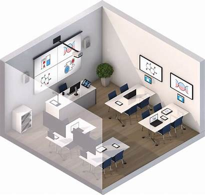 Training Classroom Rooms Solutions Banking Trading Collaborative