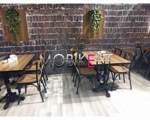 Chaise Mobilier De France : chaise bisto mobilier de restaurant brasserie destockage grossiste ~ Teatrodelosmanantiales.com Idées de Décoration