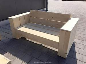 wooden pallet patio couch set pallet ideas recycled With pallet sectional sofa plans