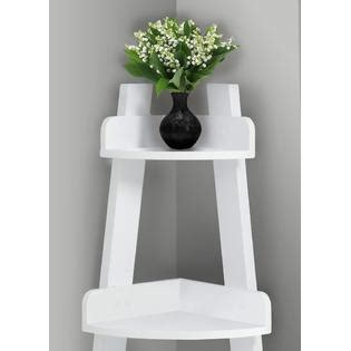 Corner Etagere Bathroom by Furnituremaxx 34 Quot H White Corner Etagere Bathroom Accent