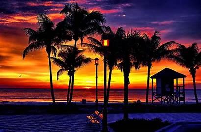 Sunset Wallpapers Tropical Beach Nature Desktop Background