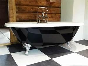 Bilder Freistehende Badewanne : freistehende badewanne carlton black aus acryl schwarz wei gl nzend ~ Sanjose-hotels-ca.com Haus und Dekorationen