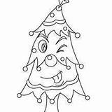Christmas Coloring Pages Tree Blackline Hellokids Word sketch template