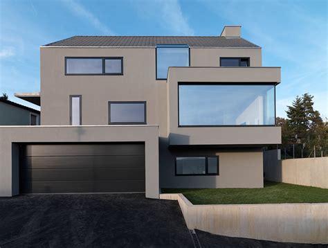 Modernes Haus Weiße Fenster by 187 Haus F 171 Ippolito Fleitz