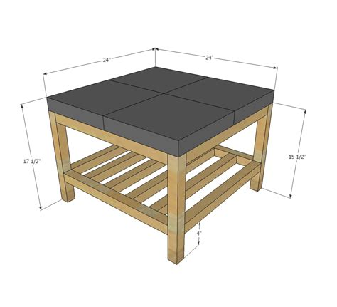Ana White  Concrete Paver Outdoor Coffee Table  Diy Projects. Drawers And Doors. Walmart Night Table. Golf Desk Accessories. Chests Of Drawers For Sale. Warming Drawers Comparison. V Light Desk Lamp. 30 X 30 Table. Inexpensive Home Office Desks